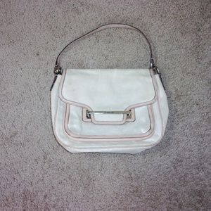 Coach Taylor Foiled Flap-Front Crossbody Bag